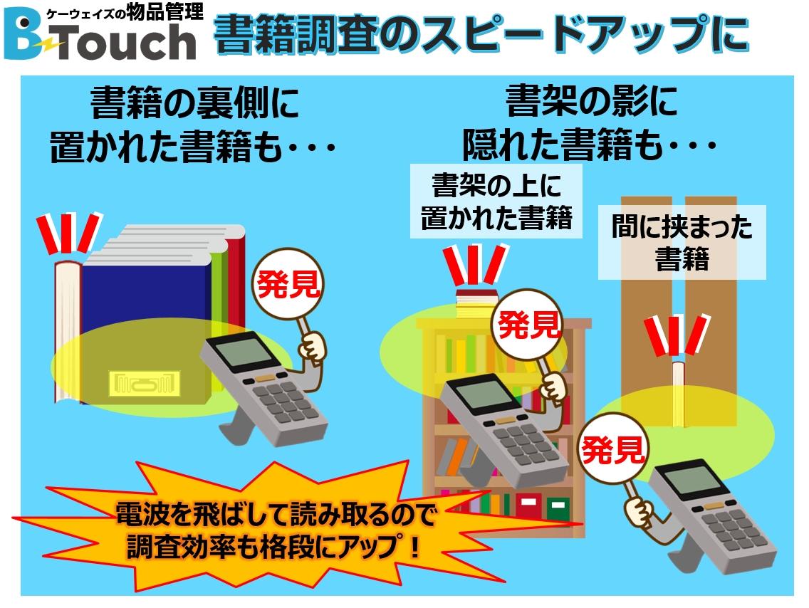 RFID技術で紛失書籍の所在探索